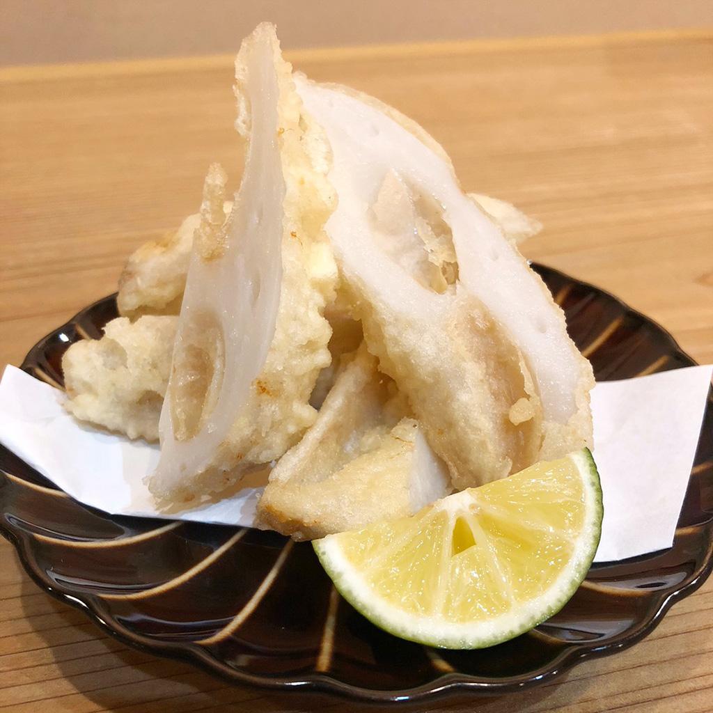 季節の野菜天ぷら